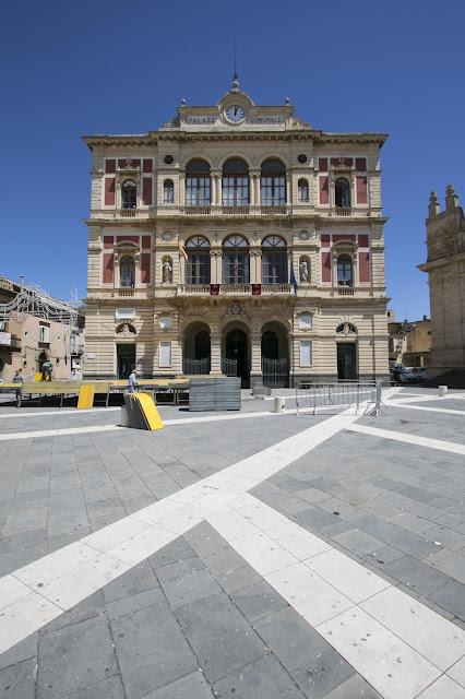Municipio-Piazza Carlo Maria Carafa-Grammichele