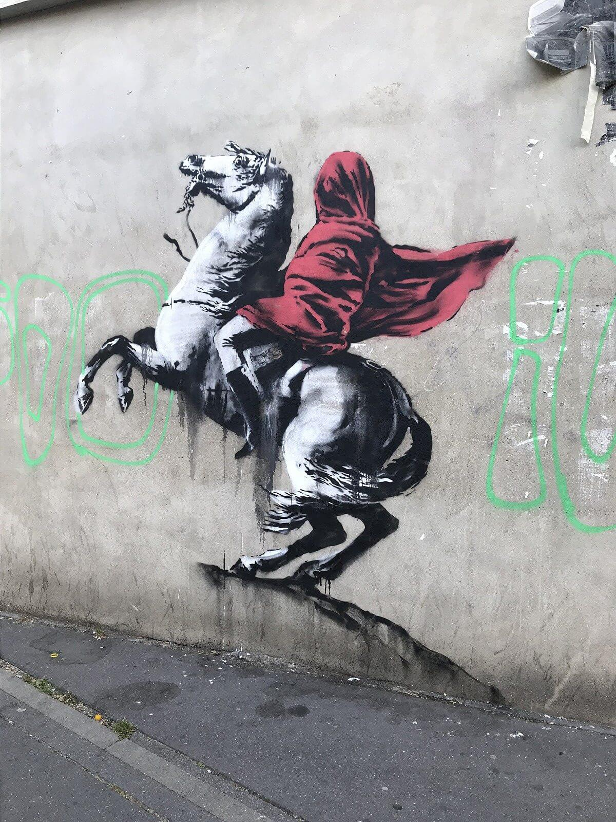 Banksy Is Back In Paris With Powerful New Pieces Of Street Art