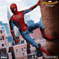 "Modern Suit Spider-Man de ""Spider-Man Homecoming "" -  One:12 Collective Mezco"