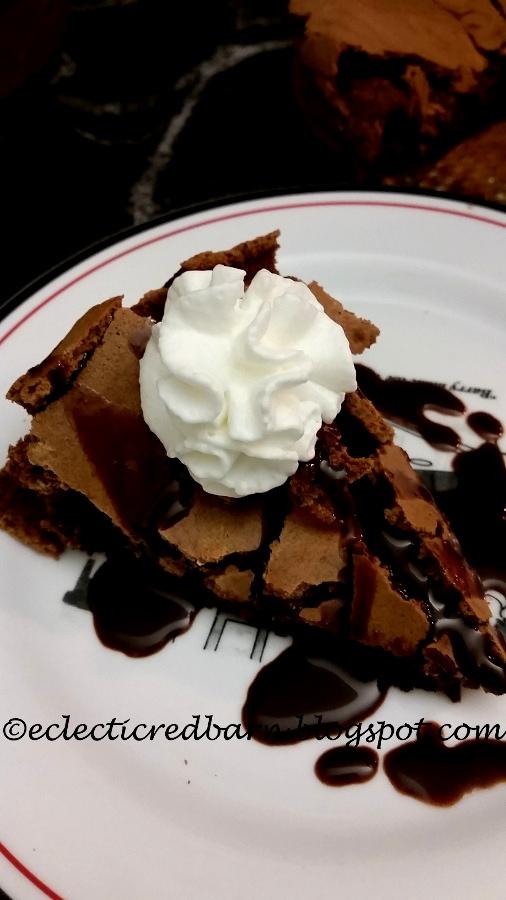 Martha Bakes Flourless Chocolate Cake