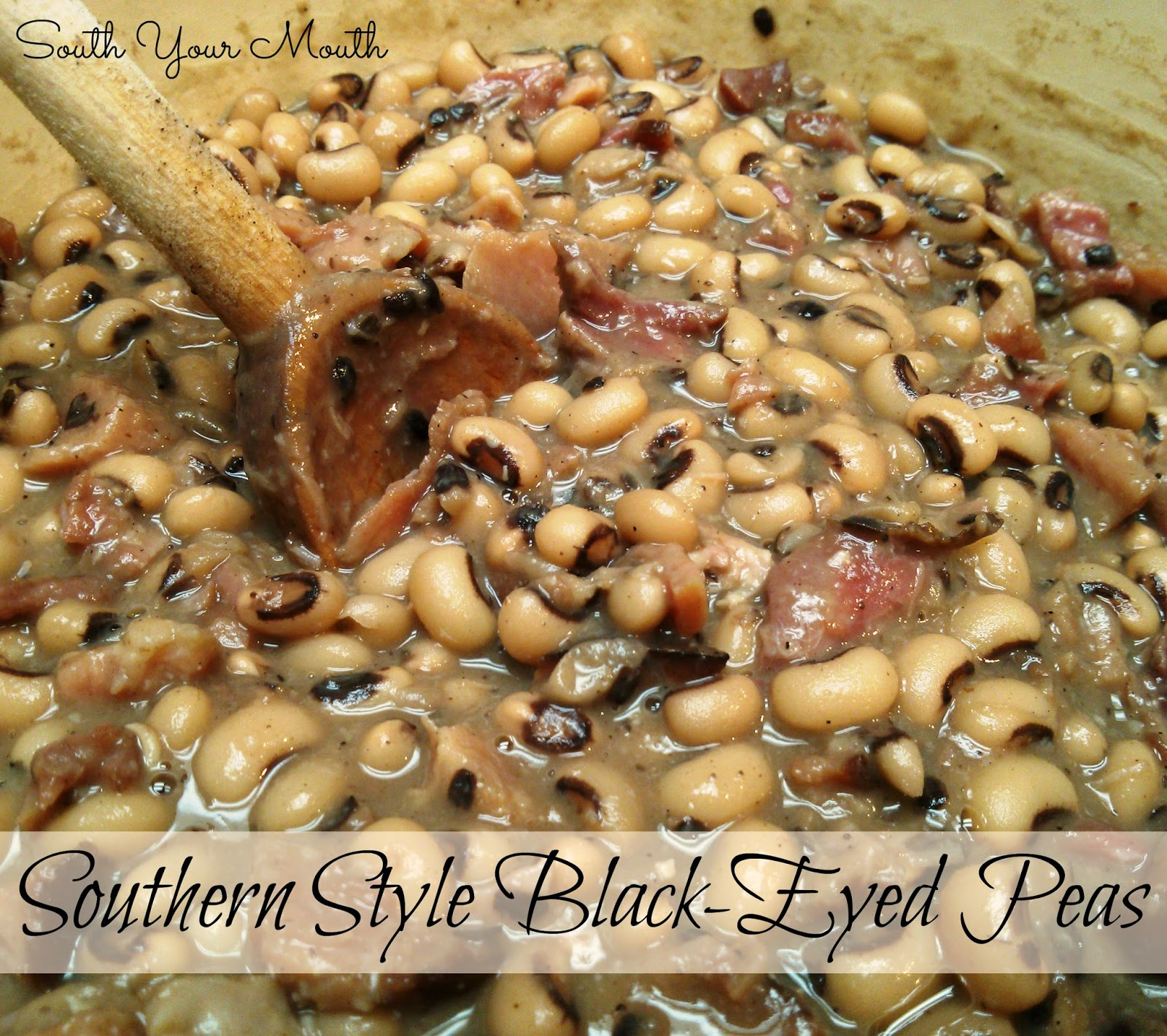 South your mouth southern style black eyed peas southern style black eyed peas 1 pound dried black eyed peas water 14 cup butter 1 medium onion finely diced 2 smoked ham hocks 1 2 teaspoons salt forumfinder Choice Image