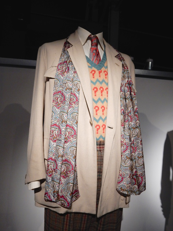 Sylvester McCoy Seventh Doctor Who costume