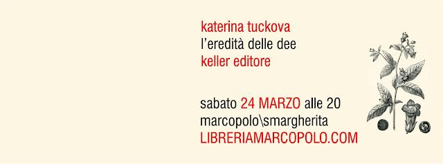 Katerina Tuckova alla MarcoPolo - sabato 24 marzo
