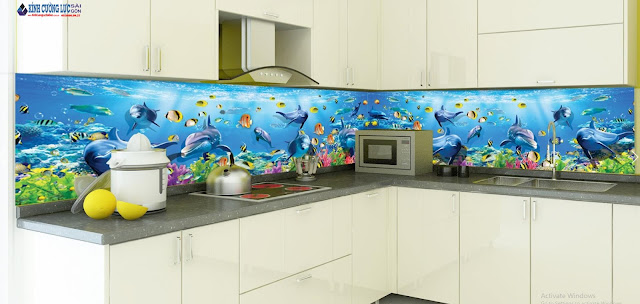 Tầm quan trọng của tranh kính 3D phòng bếp trong mỗi gia đình