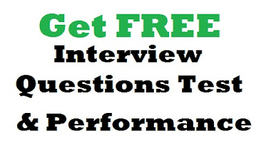 Interview Questions Tests & Performance (Assessment Interview Preparation)