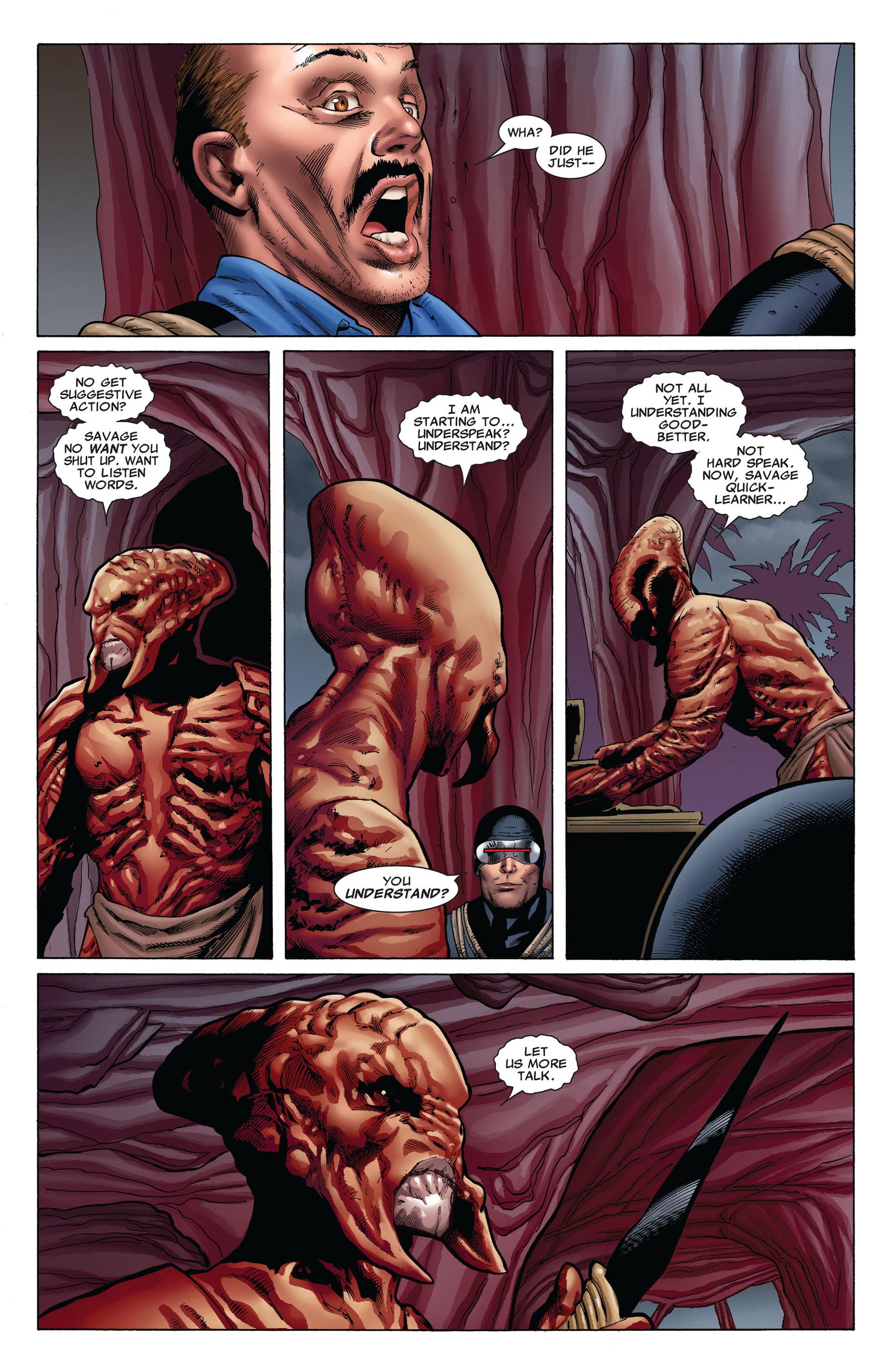 Read online Uncanny X-Men (2012) comic -  Issue #6 - 9