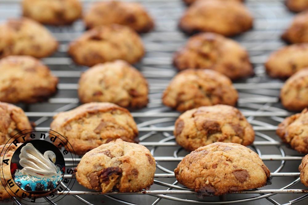 Cookies noix de pécan et pépites de Reese's