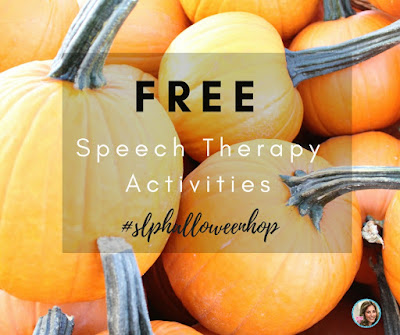 free halloween speech therapy activities