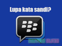 solusi lupa password bbm android