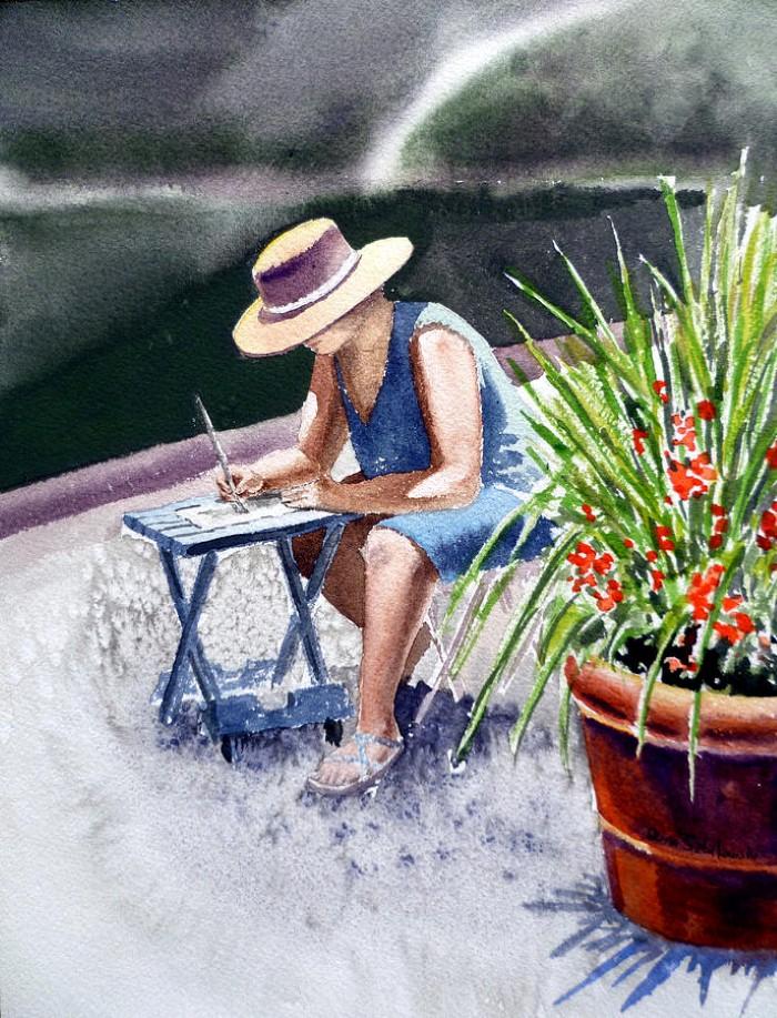 Акварельные картины. Irina Sztukowski