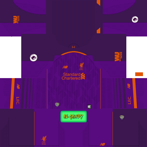 Liverpool 2018/19 Kit & Logo | Dream League Soccer