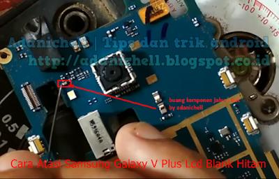 Cara Atasi Samsung Galaxy V Plus Lcd Blank Hitam