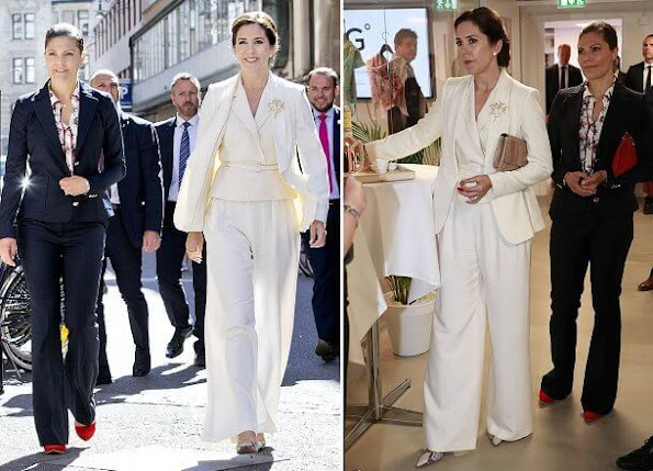 Princess Mary outfits Lasse Spangenberg pantsuit