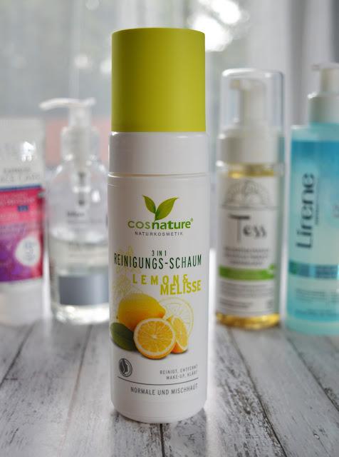 COSNATURE Naturalna pianka oczyszczająca 3w1 z cytryną i melisą,pielegnacja twarzy, pielęgnacja, oczyszczanie, ulubieńcy kosmetyczni, kosmetyki, pianka do mycia, żel do mycia twarzy,