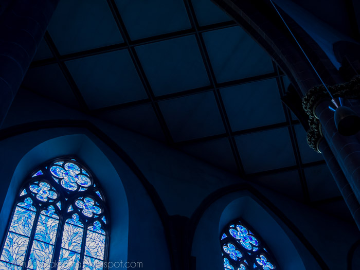 St Stephan kirkko Mainz, Marc Chagall ikkunat