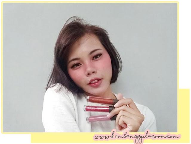 Mineral Botanica Lip Cheek Eye Wunder Cream dan Lip Glaze Review