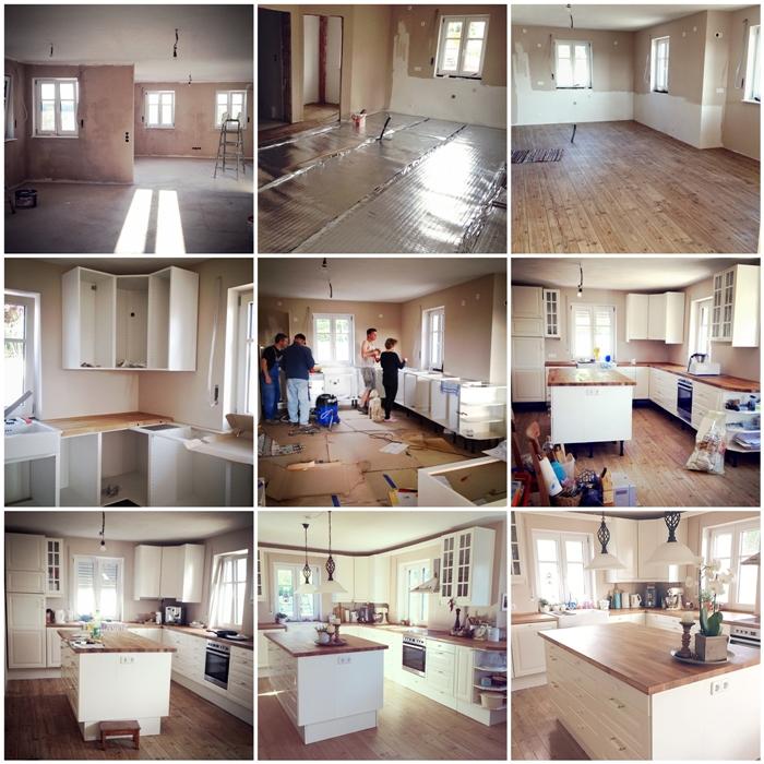 Wir bauen ein Haus 2 Jahre in unserem Traumhaus