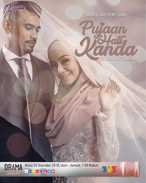 [Pelakon, Sinopsis] Drama Pujaan Hati Kanda - TV3