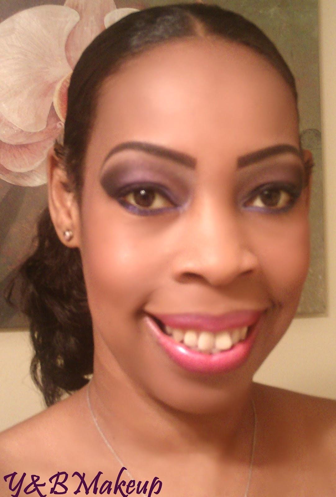 Young And Beautiful Makeup Lotd Smoky Plum Bridesmaid Makeup