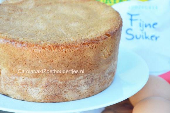 basis biscuit voor taart
