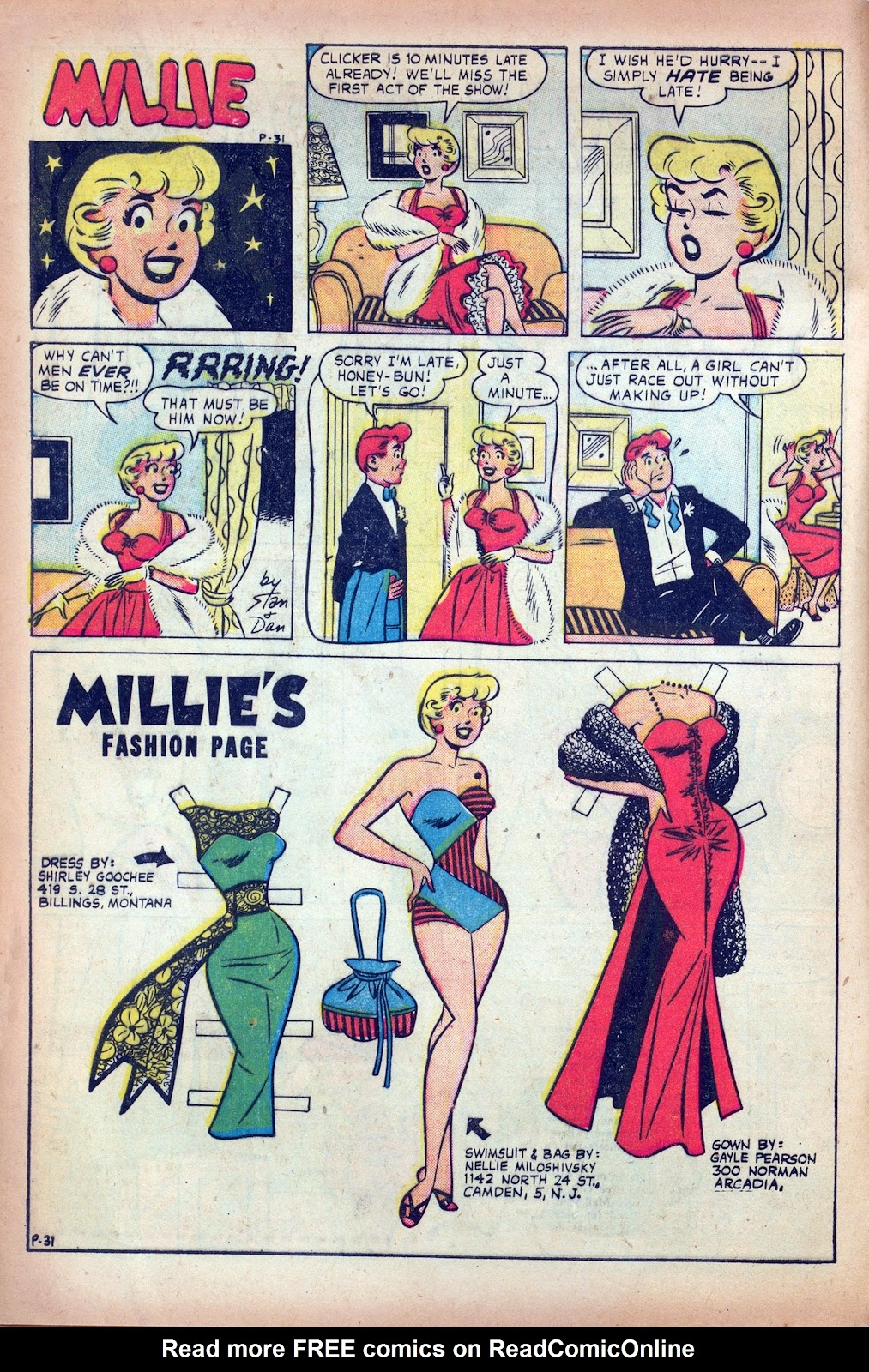 Millie the Model issue 84 - Page 8