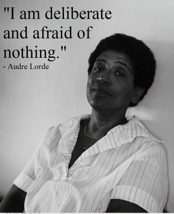 coal audre lorde essay A woman speaks  i am woman and not white: politics of voice, tactical essentialism, and cultural intervention in audre lorde's activist poetics and practice.