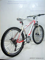 4 Sepeda Gunung GIANT 21 Speed Shimano Front and Rear Disc Brake 24 Inci