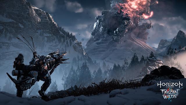 بالفيديو إستعراض جديد لأسلوب اللعب من توسعة The Frozen Wilds للعبة Horizon Zero Dawn