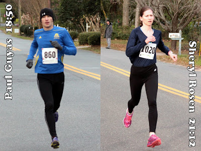 2016 Break-A-Leg 5K winners
