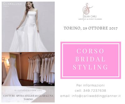 corso bridal styling