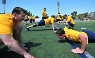 Navy grants fitness amnesty to 48,000 sailors who failed test