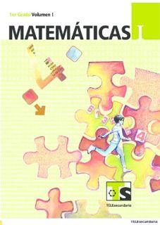 Matemáticas I Libro para el Alumno primer grado Telesecundaria Ciclo Escolar 2015-2016
