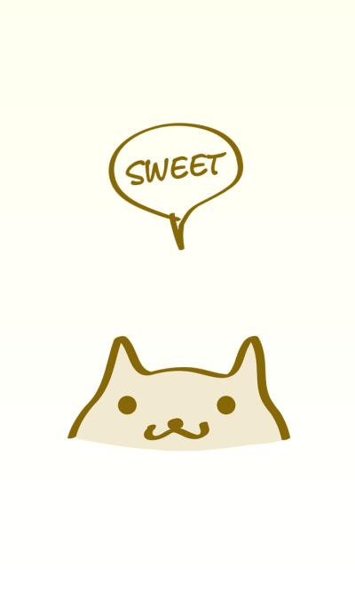 Cute cat simple theme