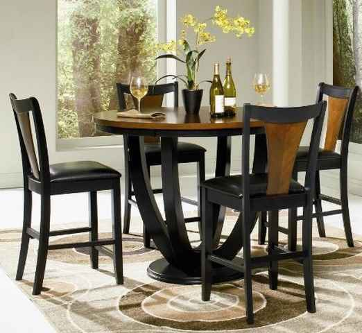 Coaster Boyer 5 Piece Counter Height Dining Set