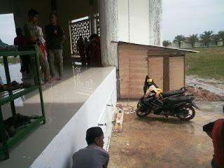 Pembangunan Toilet Masjid Agung An-nur Butuh Donatur