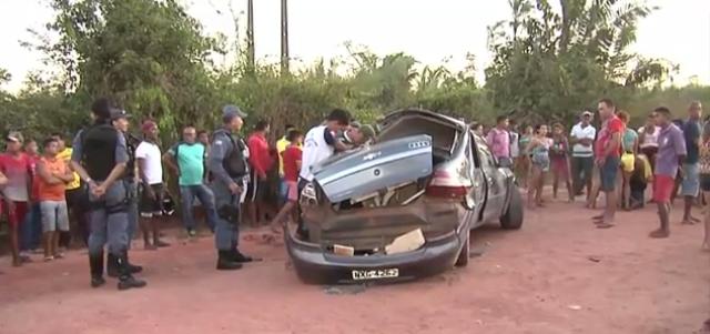 Acidente entre carro e caminhão deixa dois mortos no interior do Maranhão