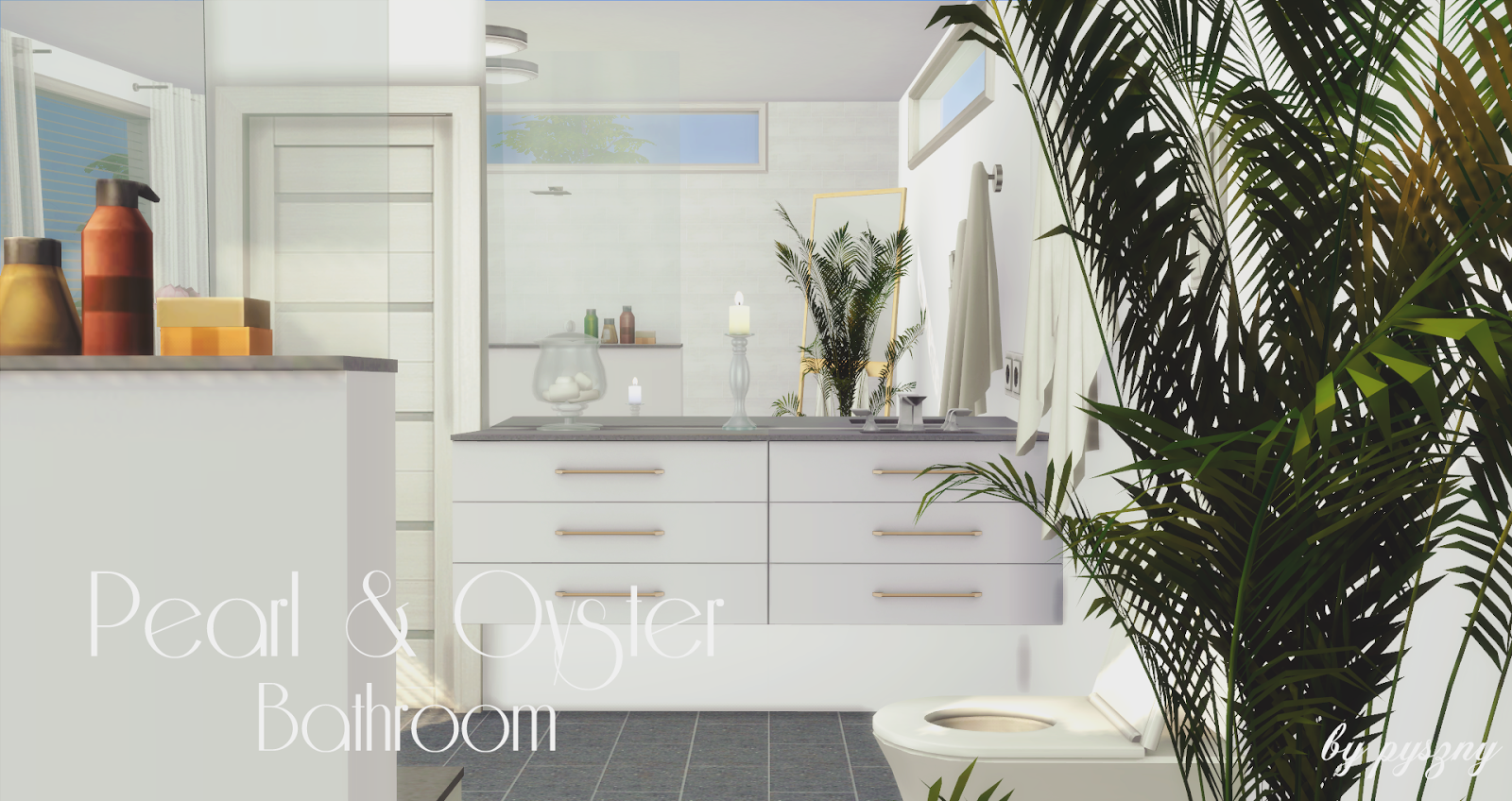 Peral & Oyster Bathroom *NEW SET* on