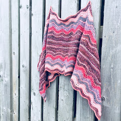 Parallel Waves Shawl
