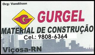 GURGEL - MATERIAL DE CONSTRUÇÃO