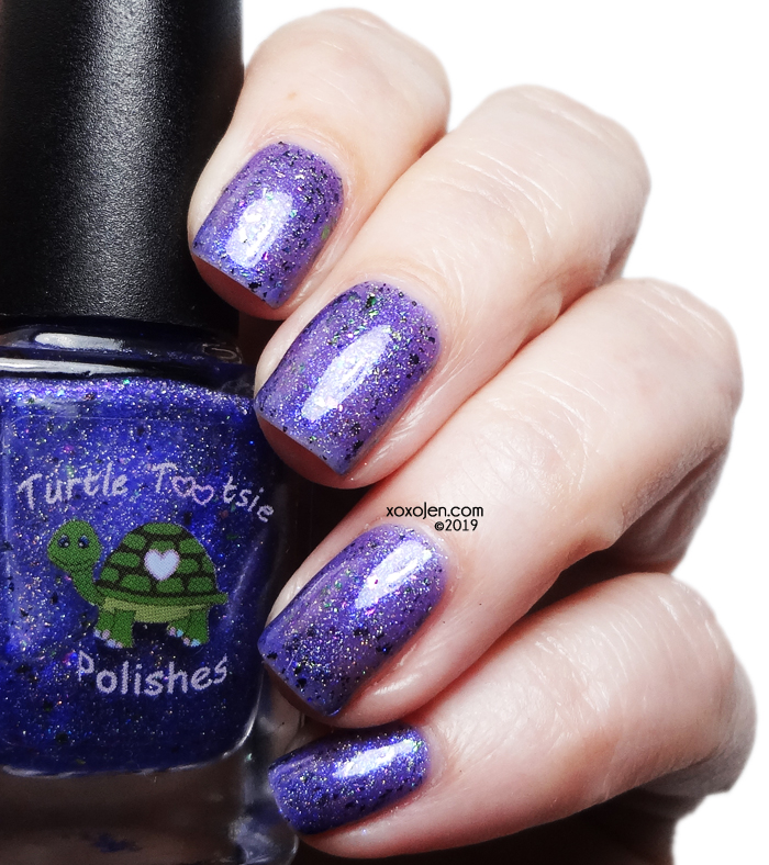 xoxoJen's swatch of Turtle Tootsie Be The Rainbow in Someone Else's Cloud