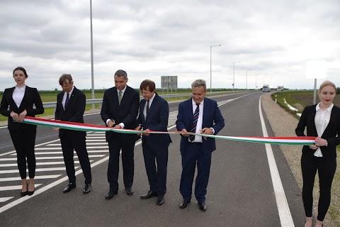 A fost finalizat drumul de ocolire al localităţii ungare Nagylak, de la graniţa cu România