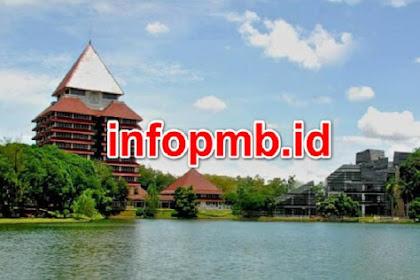 Pendaftaran Online Mahasiswa Baru (UI) Universitas Indonesia 2021