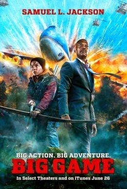 Big Game (2015) Dual Audio Full Movie