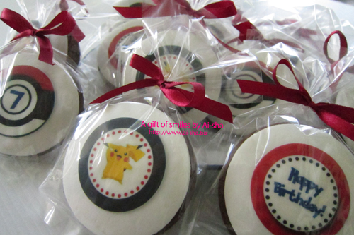 Door Gift Cookies Edible Image Pokemon