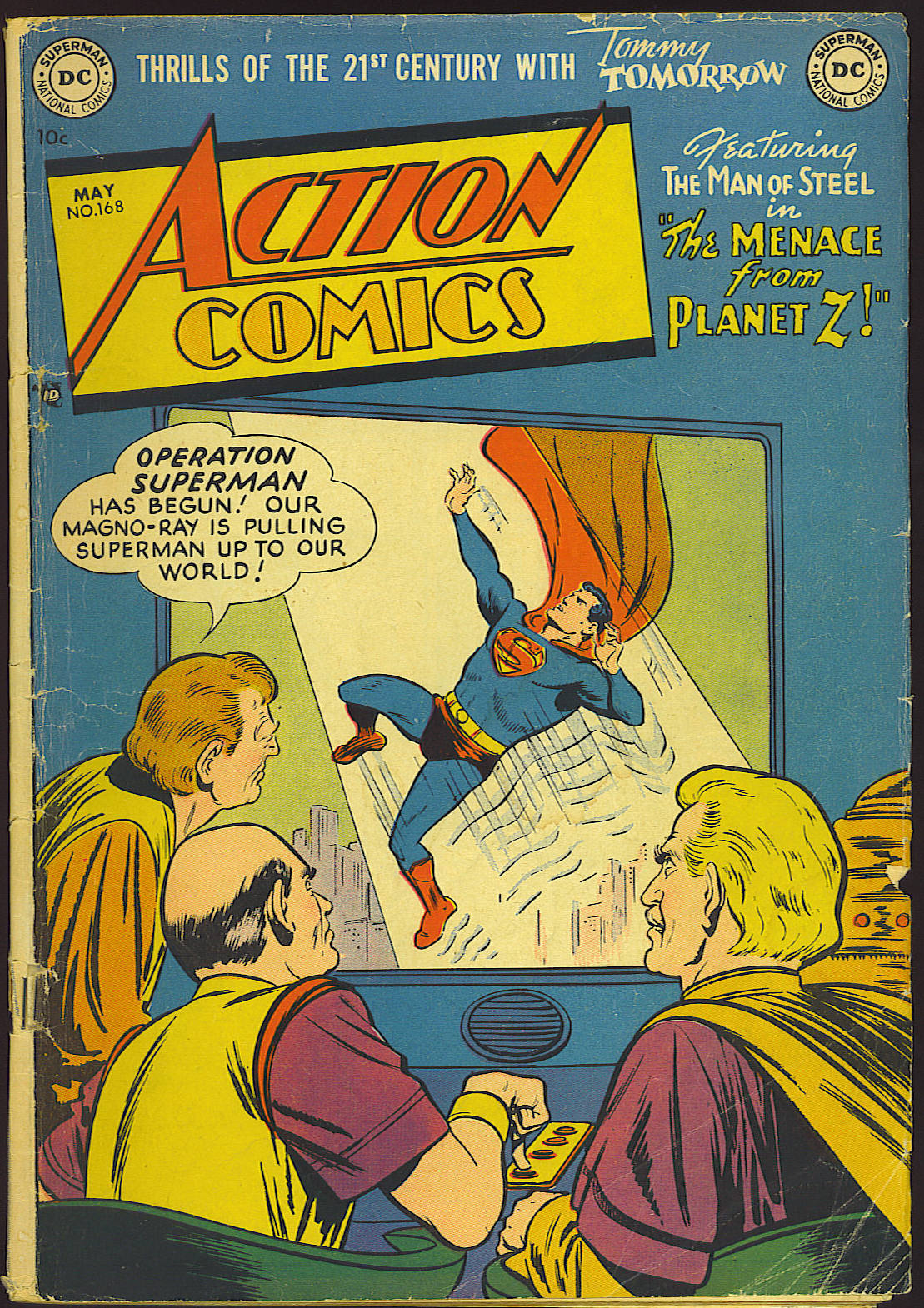 Read online Action Comics (1938) comic -  Issue #168 - 1