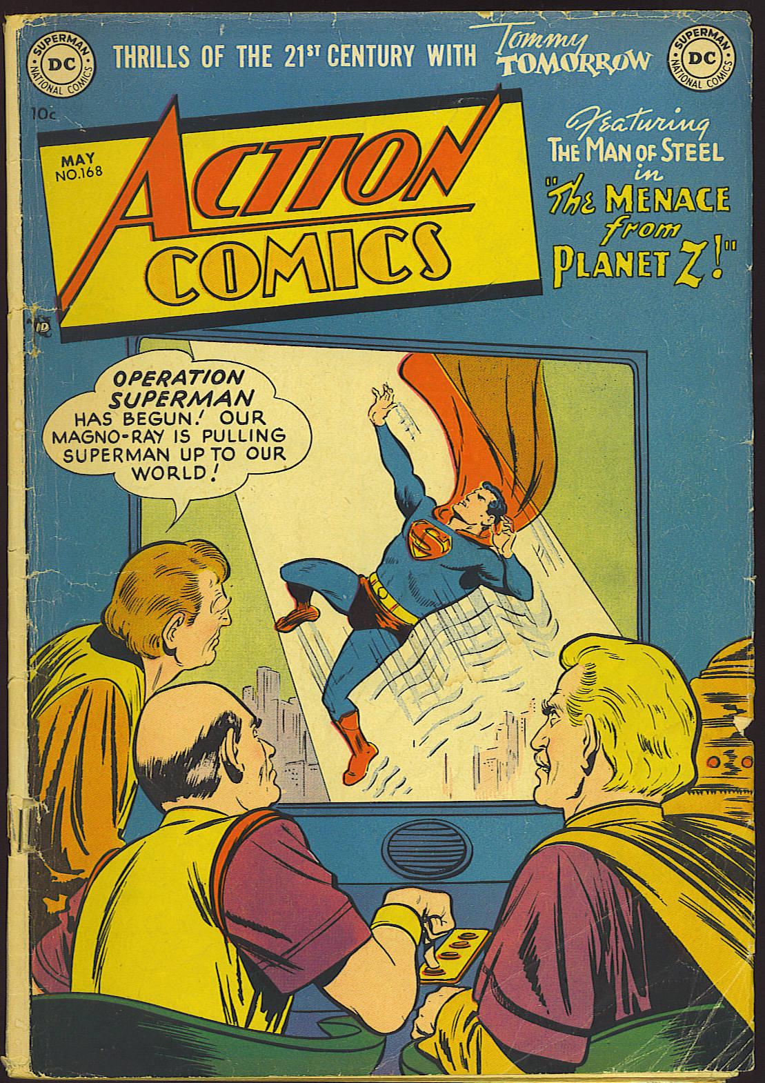 Action Comics (1938) 168 Page 1
