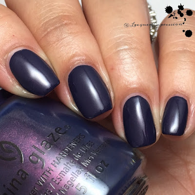 Nail polish swatch of Sleeping Under the Stars by China Glaze