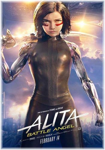 Alita Battle Angel 2019 Dual Audio HDCAM 720p | 900MB | 480p | 400MB