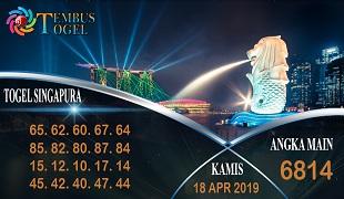 Prediksi Angka Togel Singapura Kamis 18 April 2019