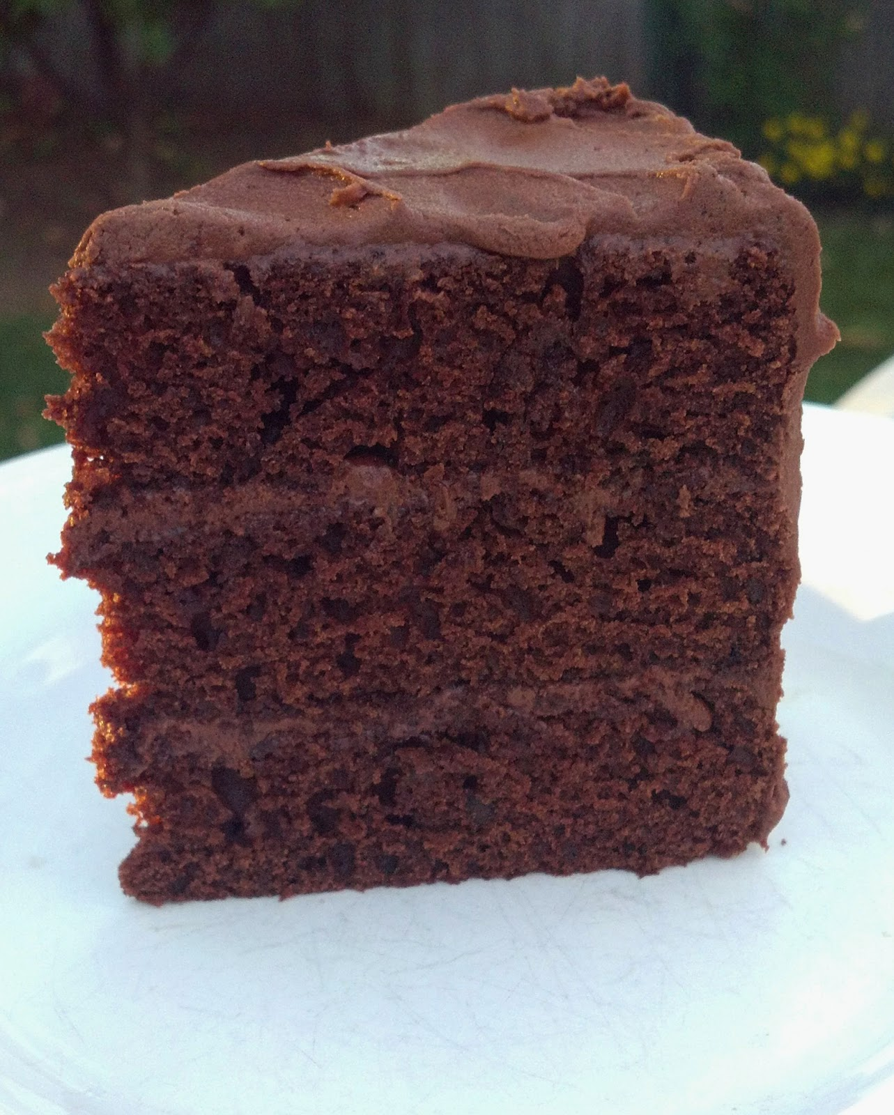 Baking Outside The Box: Simple Chocolate Layer Cake